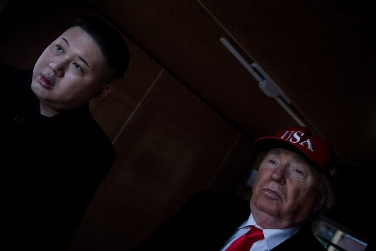 Atomic kittens: 'Trump and Kim' play nice at Olympics