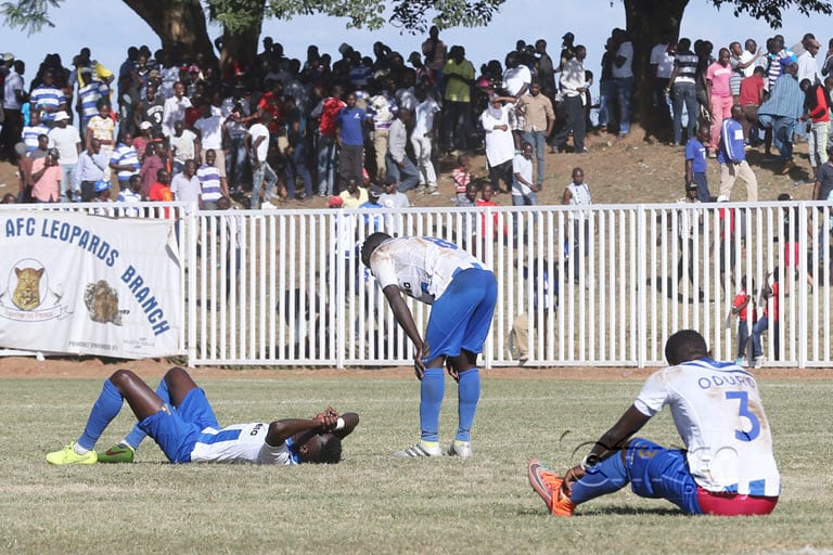 How FOSA scouted Leopards in the run up to Caf tie
