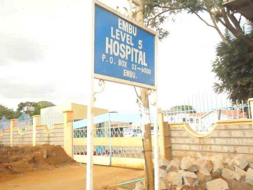 Embu medics on the spot for being 'drunk' at work