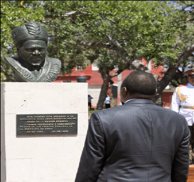 Cuba honours Jomo Kenyatta as a liberation hero