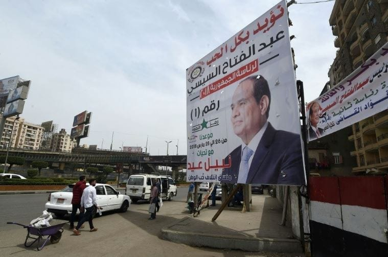 Egypt poll set for Monday, Sisi re-election secure