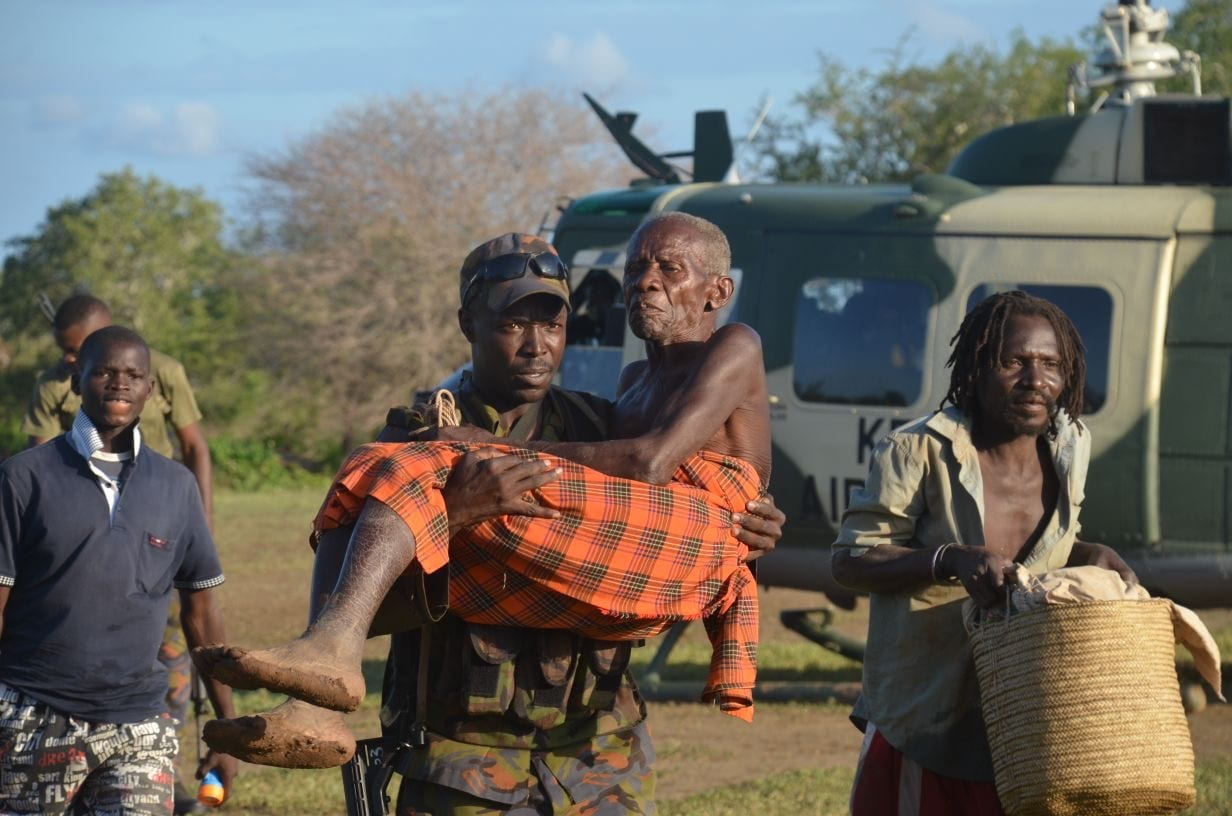 Over 1000 flood victims rescued as KDF swoops in