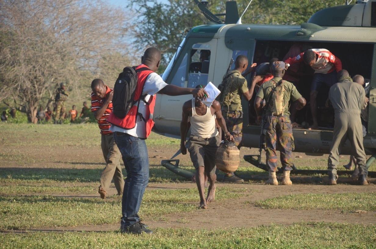Kenya Air Force flood rescue Kilifi