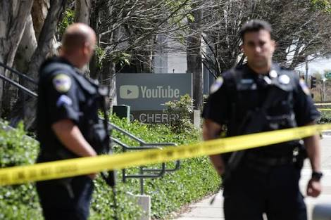 Female shooter wounds 3 at YouTube HQ then kills herself