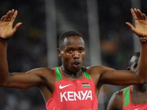 Kinyamal warms up to DL final with victory in Poland