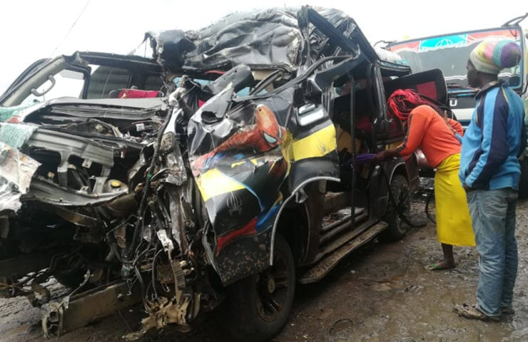 15 dead in Machakos, Kinangop road accidents