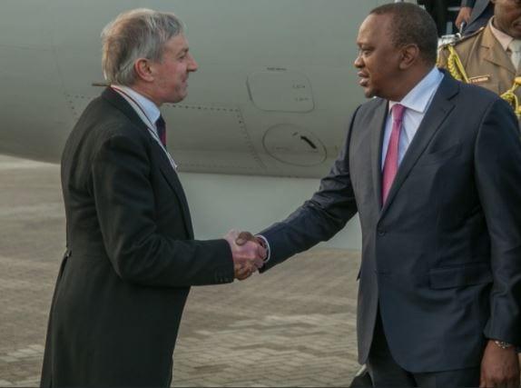 Uhuru Kenyatta in London to push for more investment
