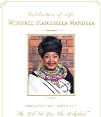 Winnie Mandela funeral underway in SA