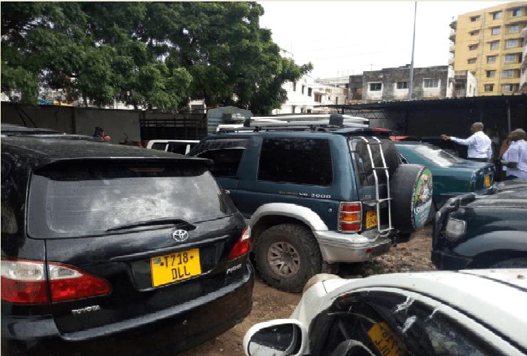 KRA impounds unregistered vehicles worth Ksh.30M