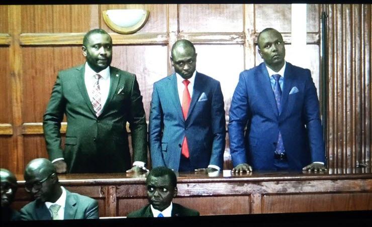 Suspects in Nairobi businessman assault case arraigned in court