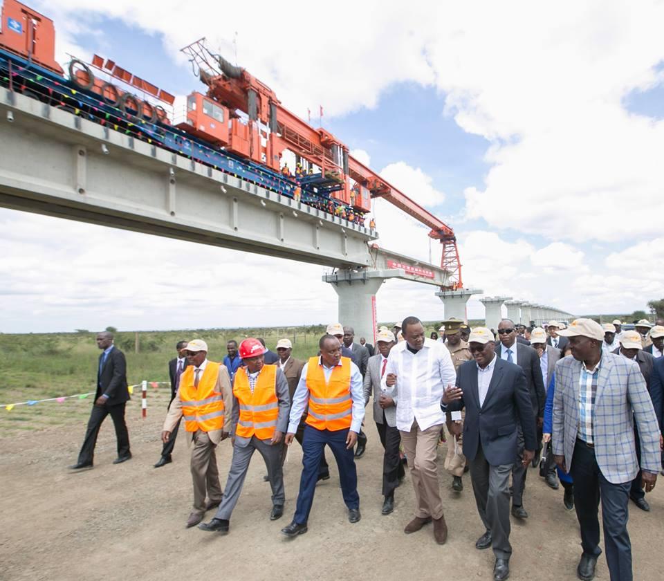 SGR construction to end in Naivasha as China loan bid flops