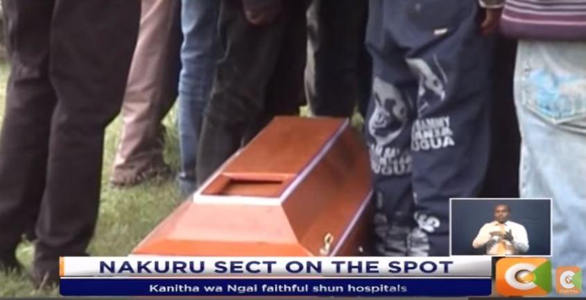 Nakuru: 9 children die as Kanitha wa Ngai sect members shun hospitals