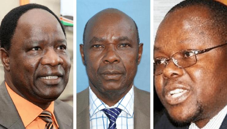 Former MPs Dalmas Otieno, John Pesa among 7 in race for Migori Senatorial seat