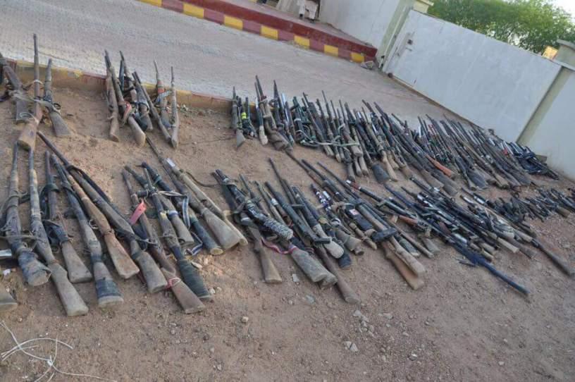 100 illegally acquired guns found in Narok