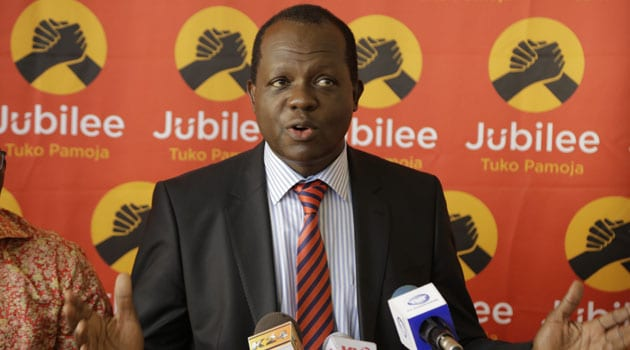 Jubilee Party: Raphael Tuju is now conscious and in control of all his limbs