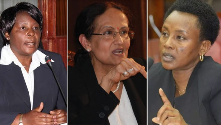 Philomena Mwilu, Kalpana Rawal, Nancy Baraza: Is Deputy CJ position jinxed?