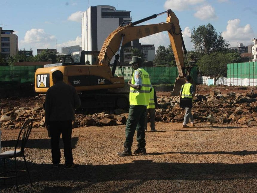Chinese workers arrested as Sonko halts building of 5-star hotel