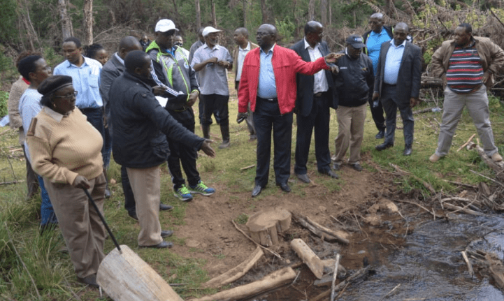Mt Kenya water abstraction licenses suspended for two weeks