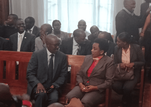 Deputy CJ Philomena Mwilu arrives in court to answer to charges