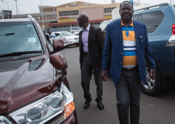 List of Raila overseas trips after Uhuru handshake