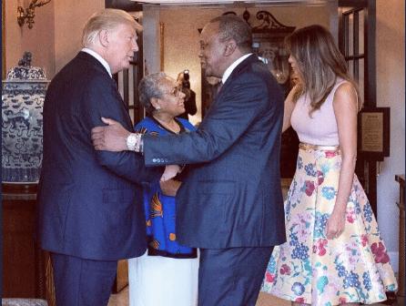 Trump tweets about Uhuru Kenyatta after White House meeting