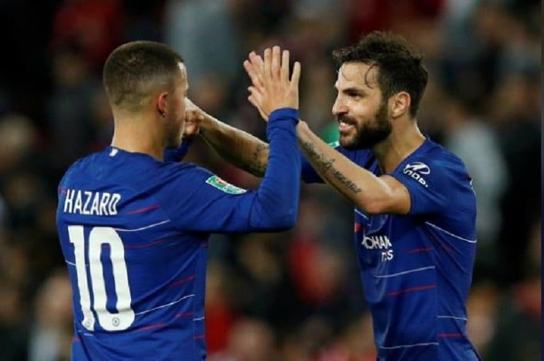 Magnificent Hazard ends Liverpool's perfect start