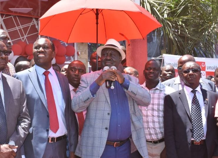 Raila to supporters: I'm still fighting for you