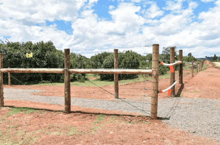The 53-kilometre Rumuruti/Marmanet Forest Wildlife Barrier Fence in Laikipia County. Photo/DPPS