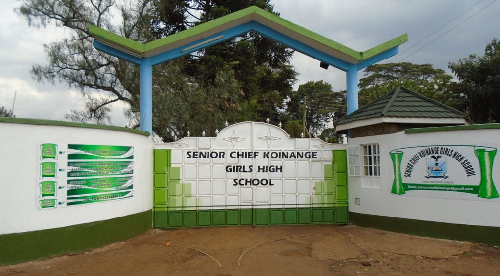 Dormitory at Senior Chief Koinange High School destroyed in dawn fire