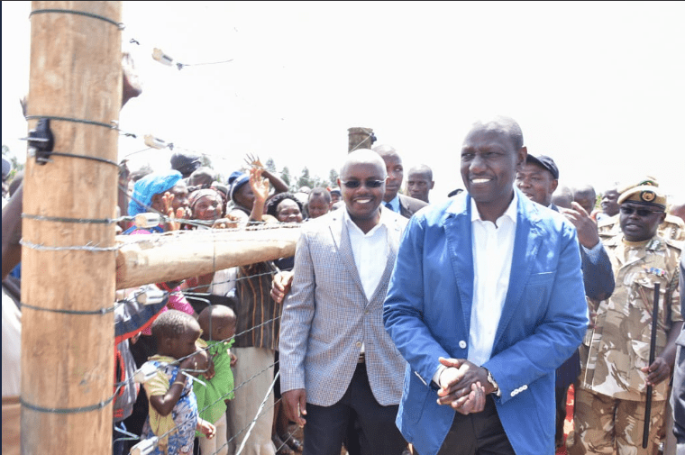 DP William Ruto launches Ksh.200M fence in Laikipia