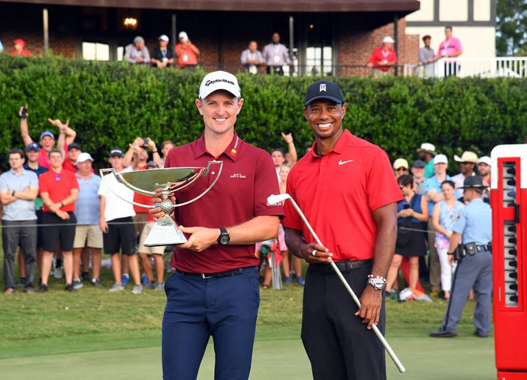 Woods ends five-year drought with Tour Championship triumph