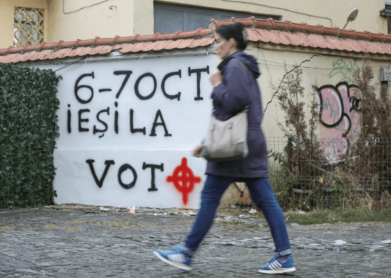 Romanians vote on constitutional ban on same sex marriage