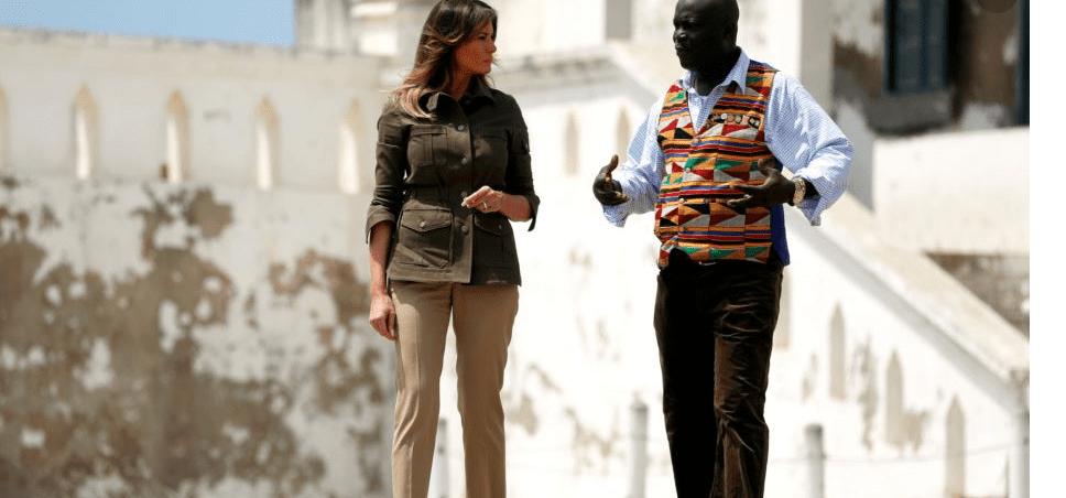 Melania Trump wraps up solo African tour in Egypt