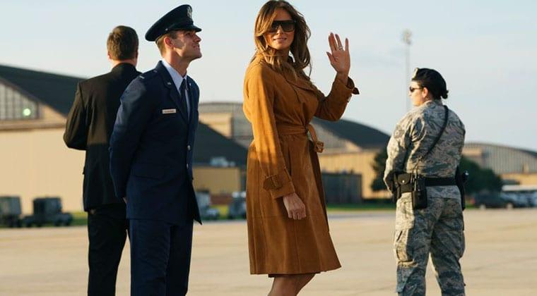U.S. First Lady Melania Trump to arrive in Kenya this week