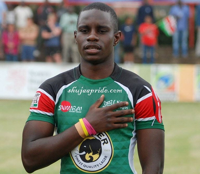 'Missing' rugby player Asiligwa found safe after family raised alarm