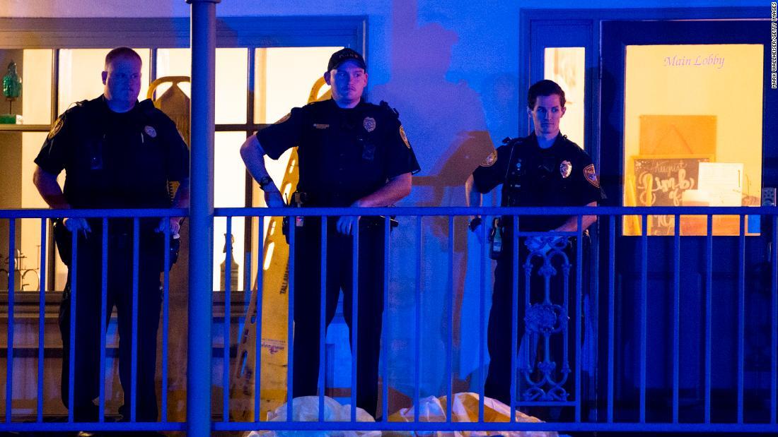 Police identify suspected gunman in yoga studio shootout