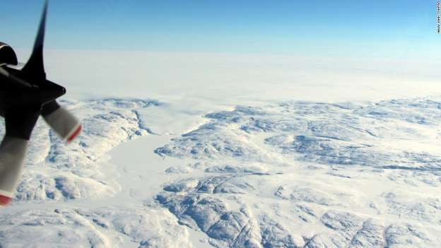 Scientists confirm massive impact crater beneath ice in Greenland