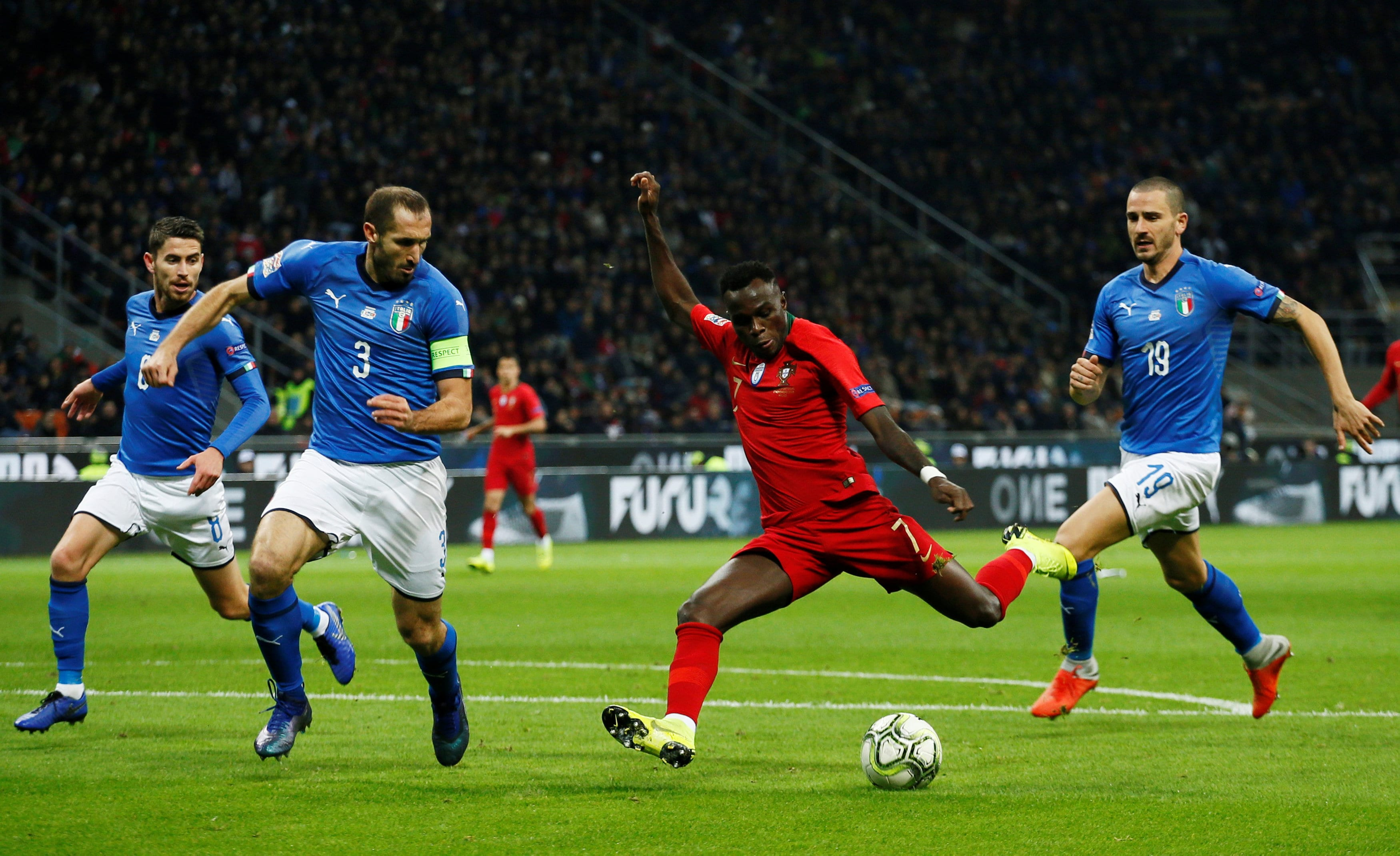 Portugal qualify for Nations League semis