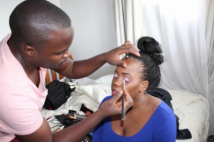 Men & Makeup: Meet Willy Collins Mbogo
