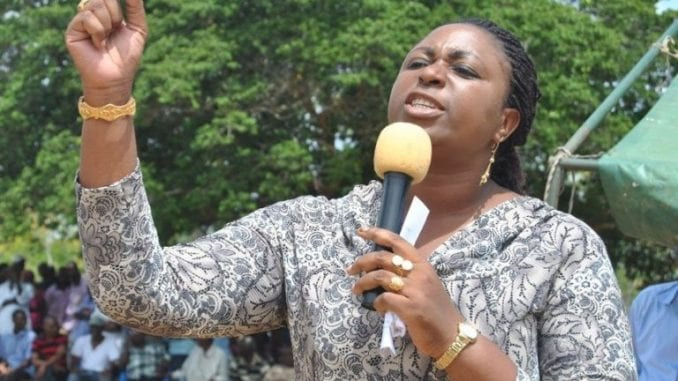 Expelled Aisha Jumwa remains defiant
