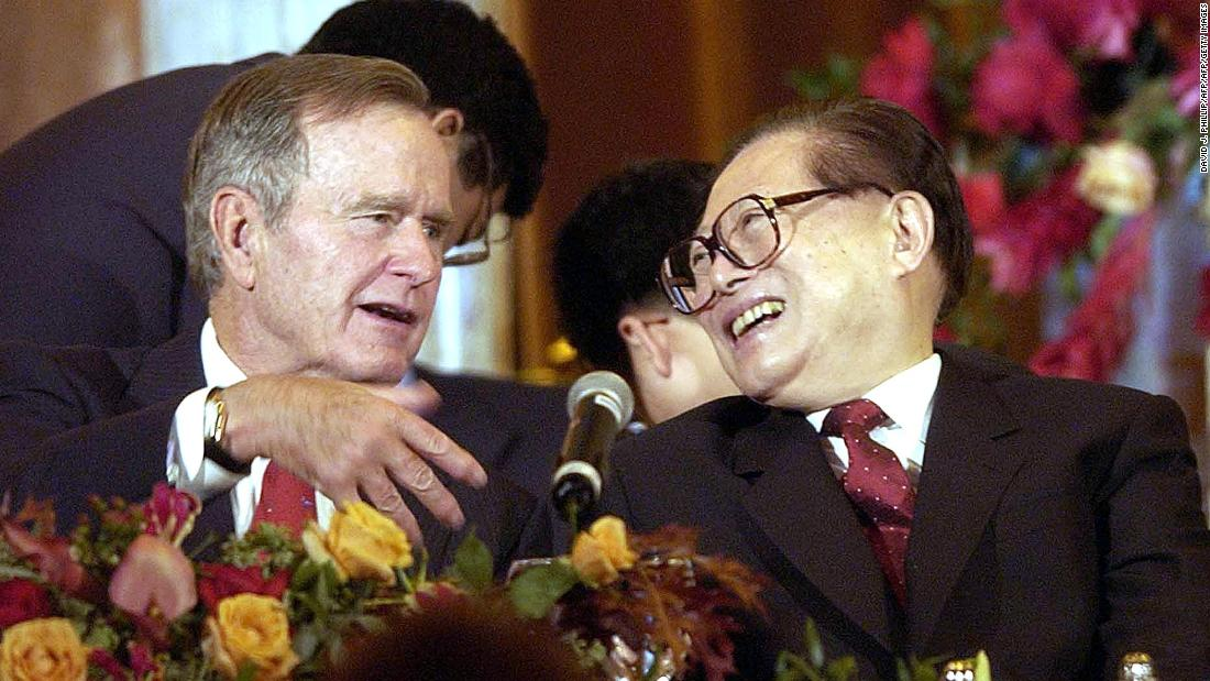 How George H.W. Bush became Beijing's 'old friend' in the White House