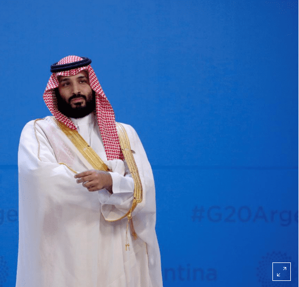 Saudi crown prince meets South African president on sidelines of G20