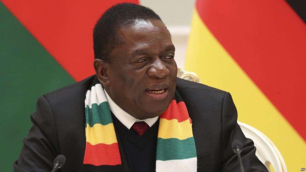Zimbabwe President returns home after violent protests