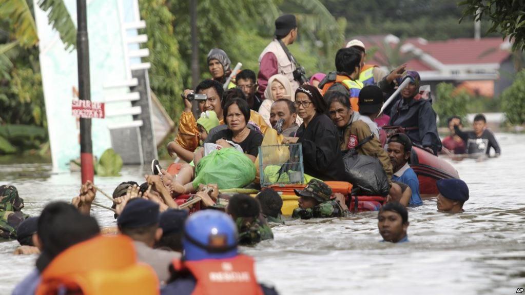 Dozens dead, missing in Indonesia floods, landslides