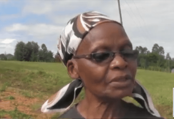 66-year-old Bomet widow repairs road where husband was killed in accident