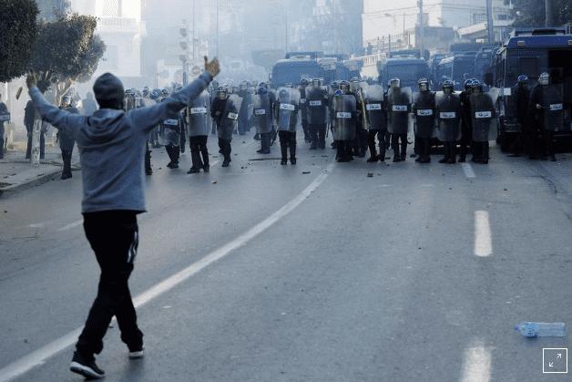 Thousands of Algerians protest against Bouteflika's re-election bid