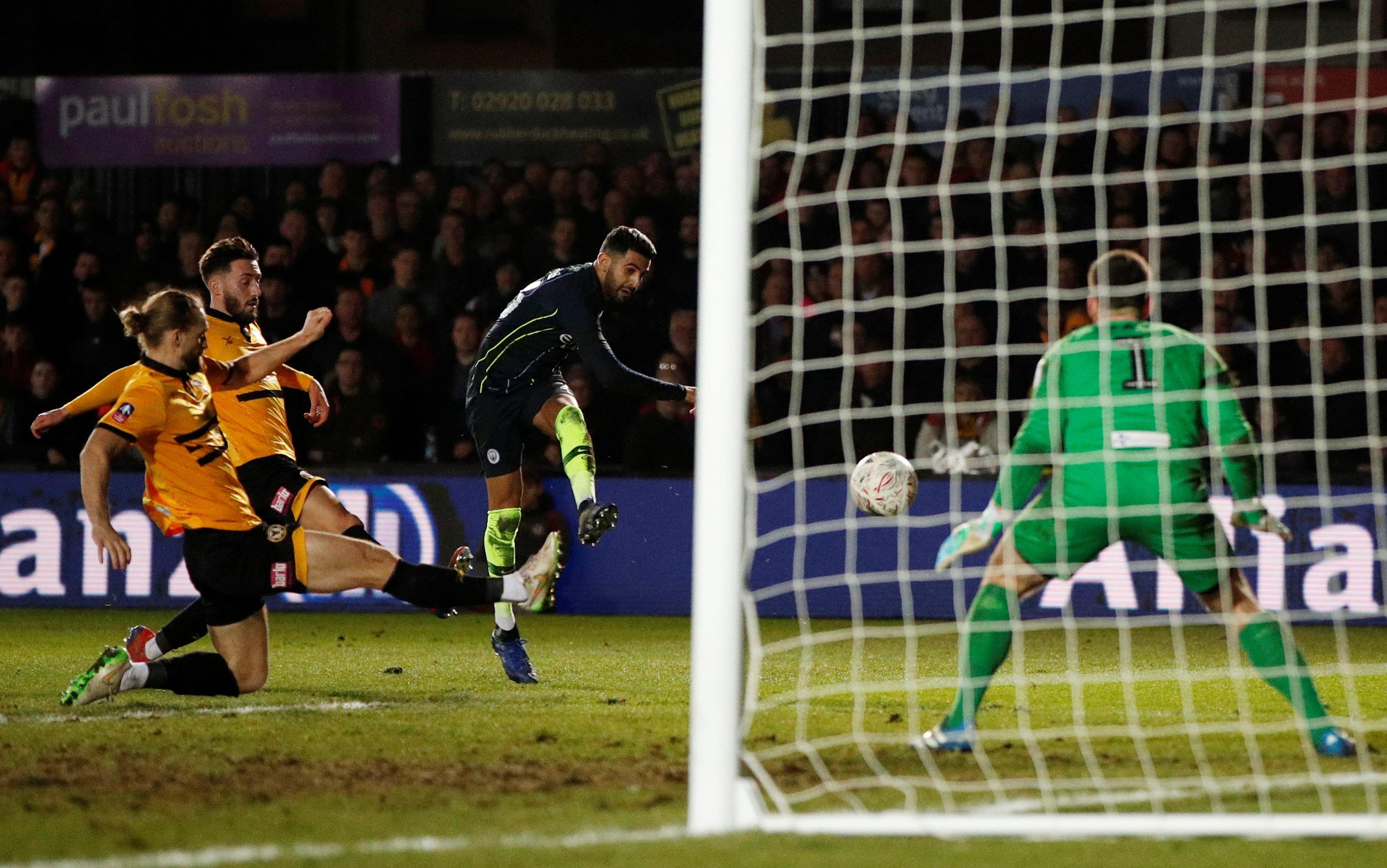 Man City end Newport's Cup dream to reach quarter-finals