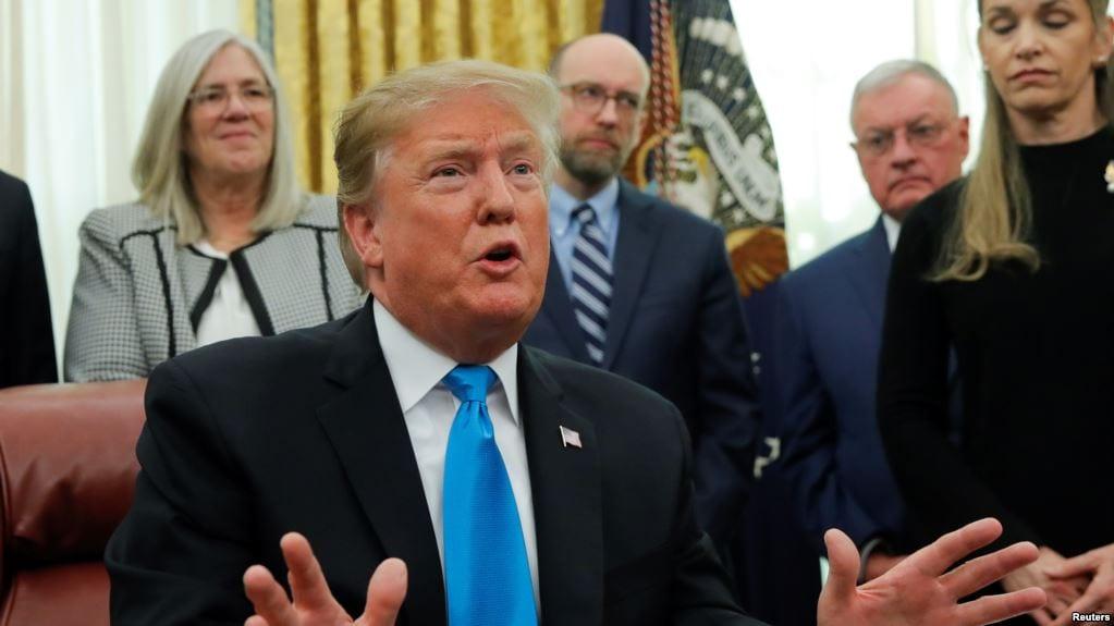 Trump denies reversal of Syria Troop decision