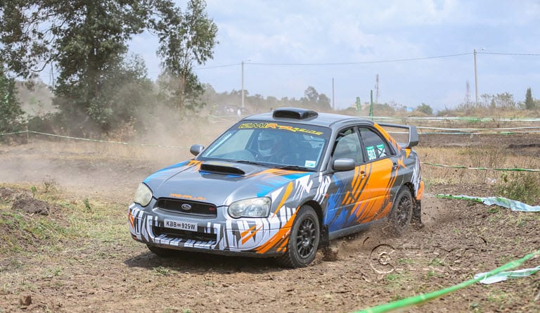 Hilly and dusty, drivers gear up for KCB Kajiado Rally