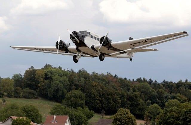 Switzerland bans commercial Ju-52 flights after deadly crash